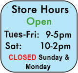 Starr Gems Store Hours and Calendar