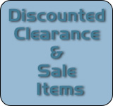 Discounted clearance and sale items