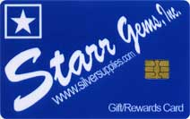 Starr Gems Inc. Silversupplies Gift Card