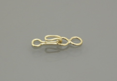 Gold Filled Hook and Eye Clasp