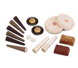 polishing buffing kit for large motors