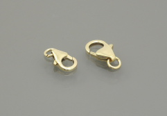 gold filled Round Lobster Claw Clasp